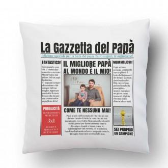 cuscino papà la gazzetta del papà