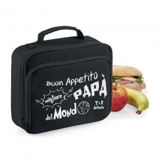 borsa frigo lunch box personalizzata papà