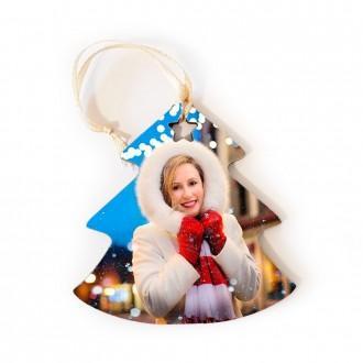 Addobbo natalizio personalizzato con foto