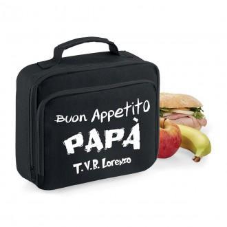 Lunch box borsa frigo papà personalizzata