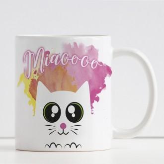 tazza personalizzata gattino e nome