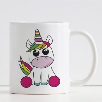tazza bambina personalizzata con unicorno e nome