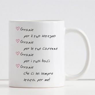 tazza personalizzata per la mamma